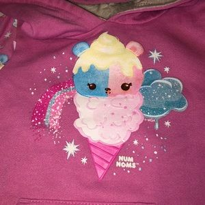 num noms Shirts & Tops - Num Noms little girls hoodie size 6